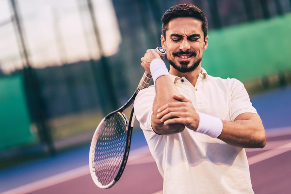 tennis players frequently experience lateral epicondylitis